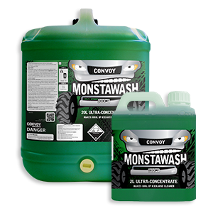monstawash truck wash product